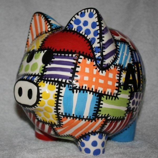Elephant Piggy Pink Bank