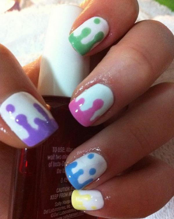 15 Super Easy Nail Art Ideas That Your Friends Will Think Took You Hours Minq