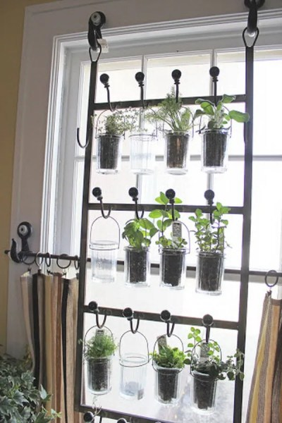 indoor hanging garden ideas 25 Cool DIY Indoor Herb Garden Ideas - Hative