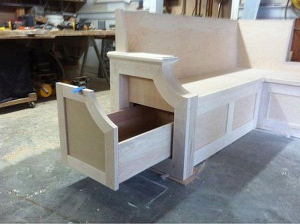 15 Creative DIY Storage Benches