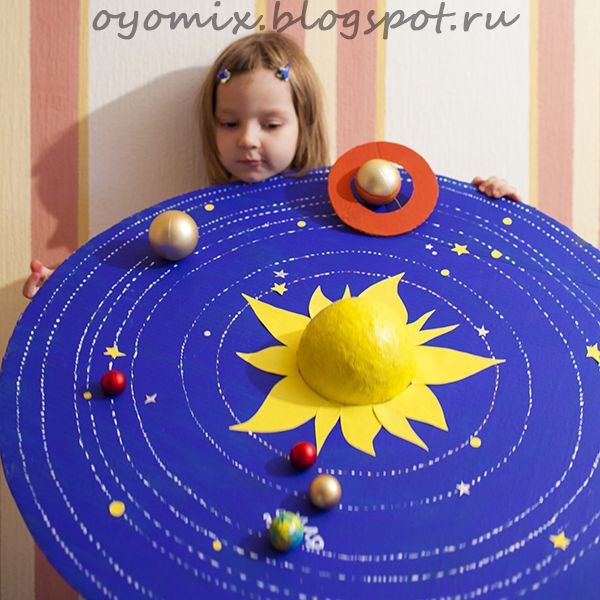 Solar System Project Ideas For Kids - Hative on Model Ideas  id=70538