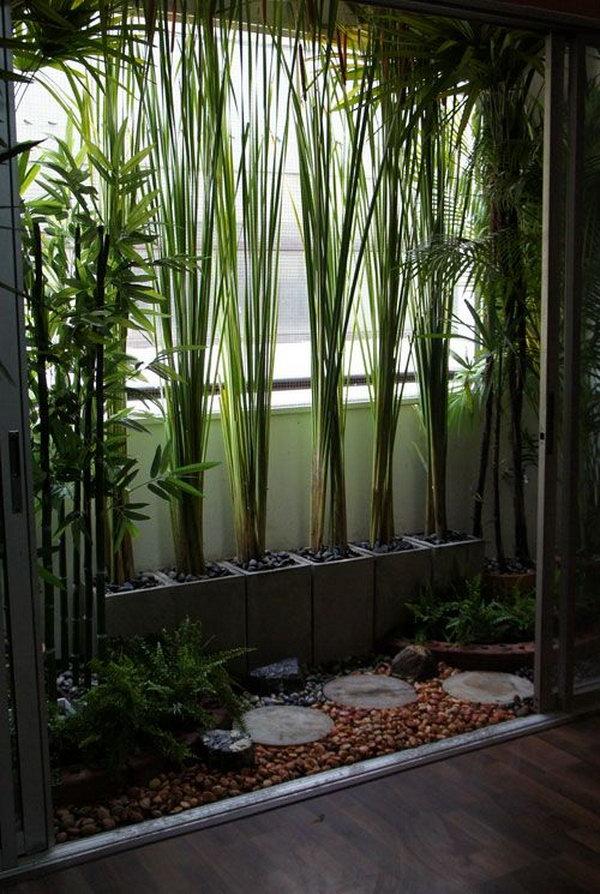 Balcony Garden Design Ideas - Hative on Tree Planting Ideas For Backyard id=83843