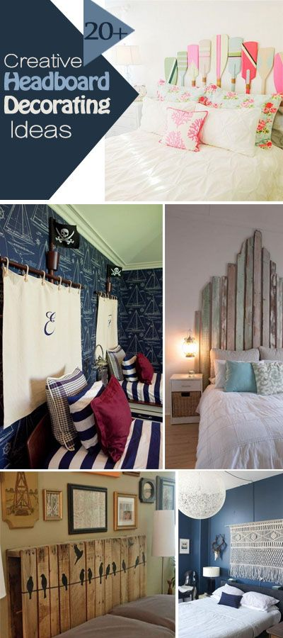 20+ creative headboard decorating ideas - hative
