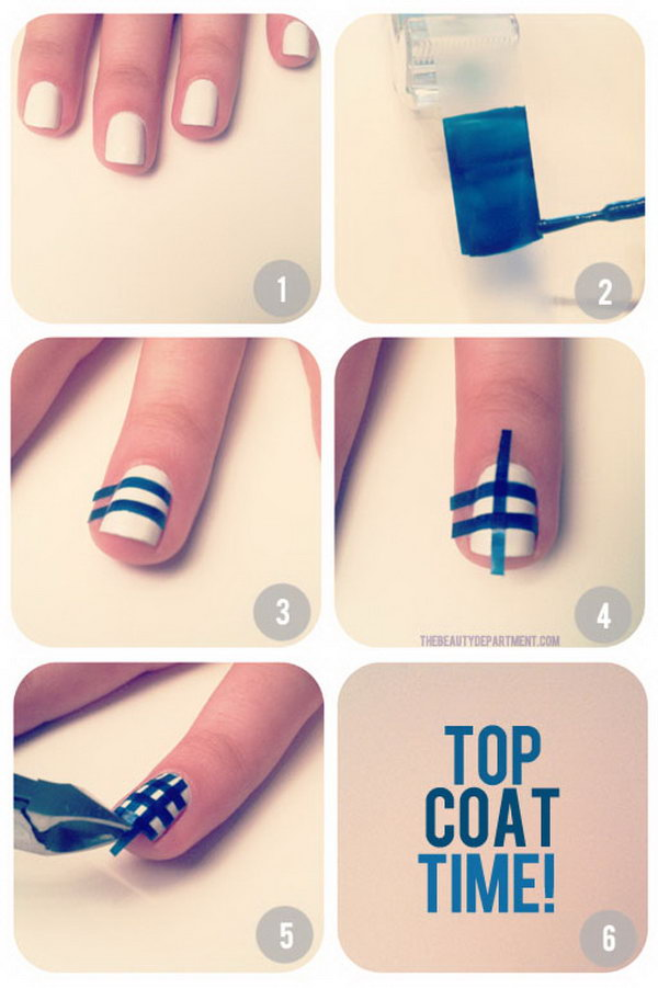 Smoky Marble Nail Art Tutorial E1337727241512 150x150 Simple Marbled