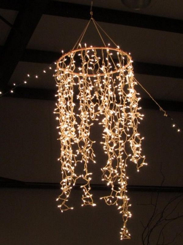 String lights are often used in wedding, holiday and home decoration, and they can always make you feel warm, cozy and romantic.