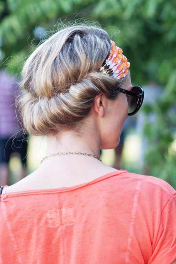 25 Cool Hairstyles With Headbands For Girls Hative