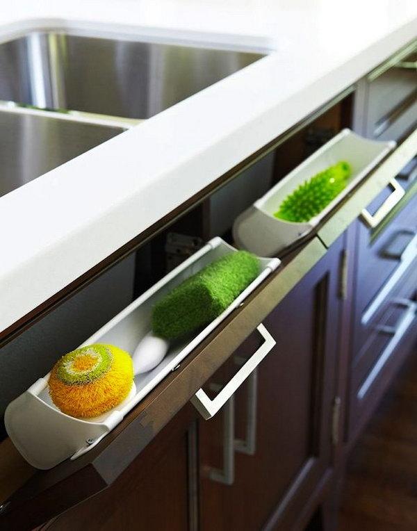 clever kitchen storage ideas - hative