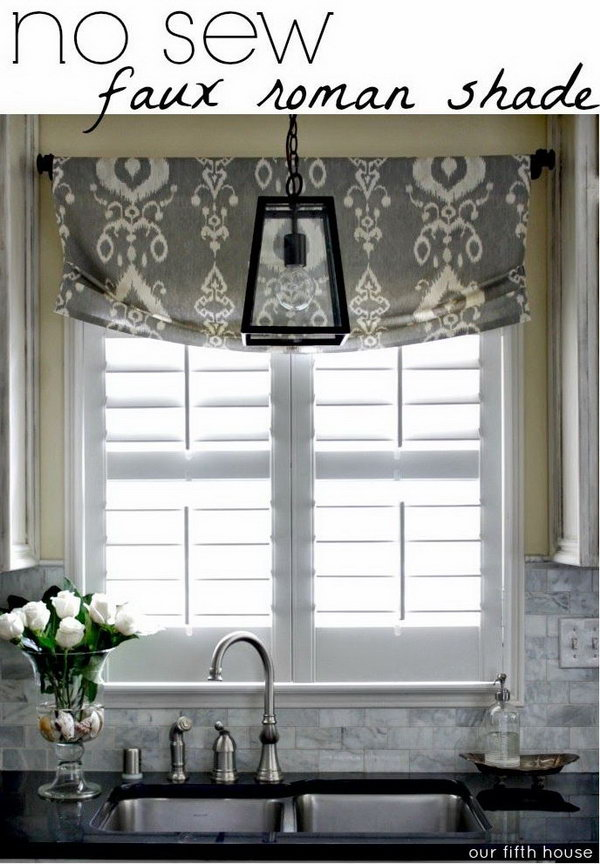 The kitchen is considered the heart of the home and it's the room people spend the most time in, gathered around the table with their families. Creative Kitchen Window Treatment Ideas - Hative
