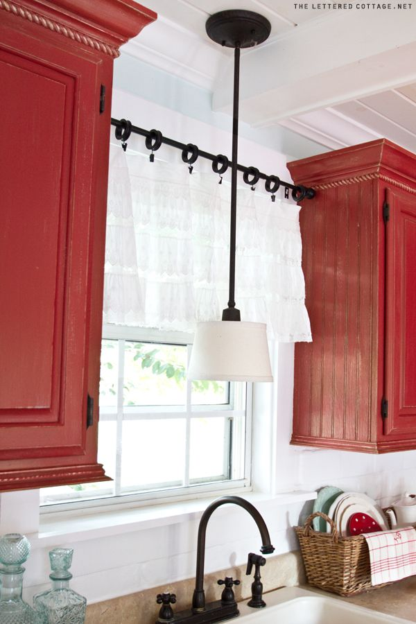The first factor to consider is how you want to mount the blinds in your home. Creative Kitchen Window Treatment Ideas - Hative