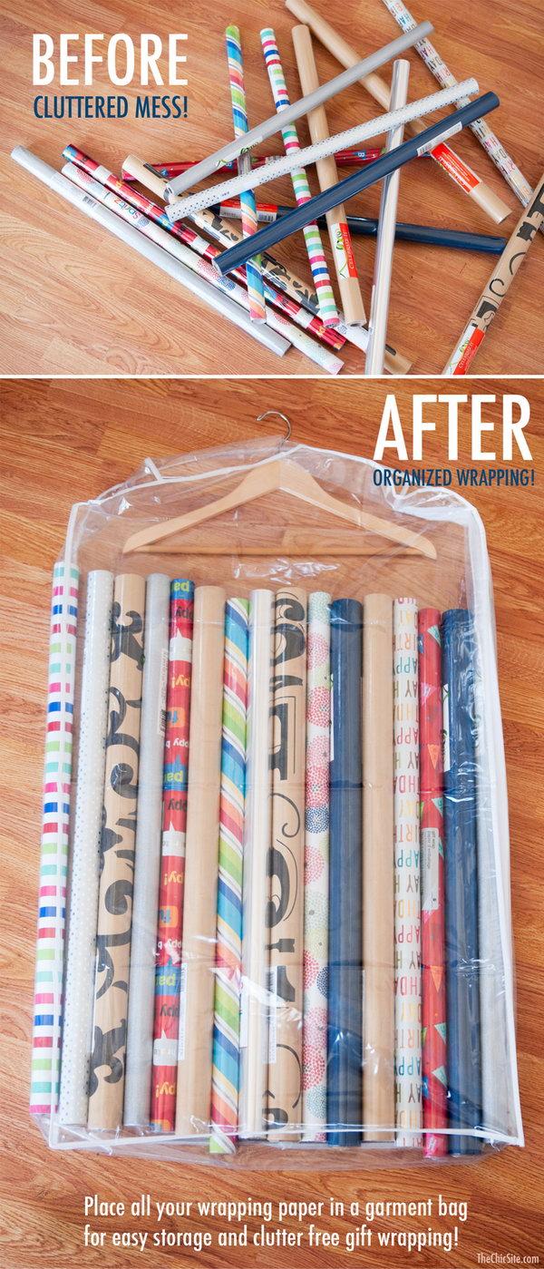 Creative Ways Organize Your Closet