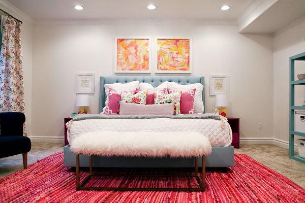 10 Cozy Bedroom Ideas - Hative on Cozy Teenage Room Decor  id=80067