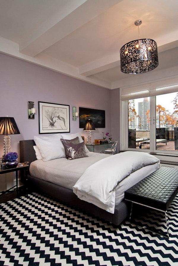 80 Inspirational Purple Bedroom Designs Ideas Hative