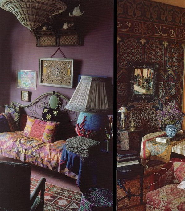Decorating themes include island getaway, parisian, casual, and more. 80 Inspirational Purple Bedroom Designs & Ideas - Hative