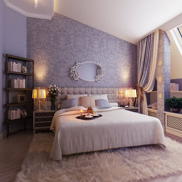 Decorating a small home might seem like a bit of a challenge at first. 80 Inspirational Purple Bedroom Designs & Ideas - Hative