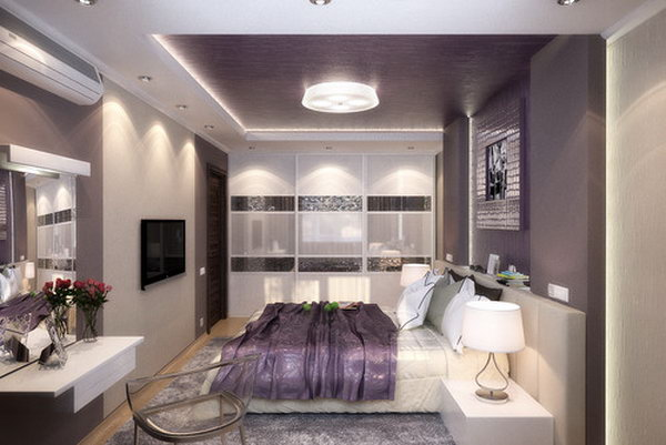 Make bedrooms in your home beautiful with bedroom decorating ideas from hgtv for bedding, bedroom décor, headboards, color schemes, and more. 80 Inspirational Purple Bedroom Designs & Ideas - Hative