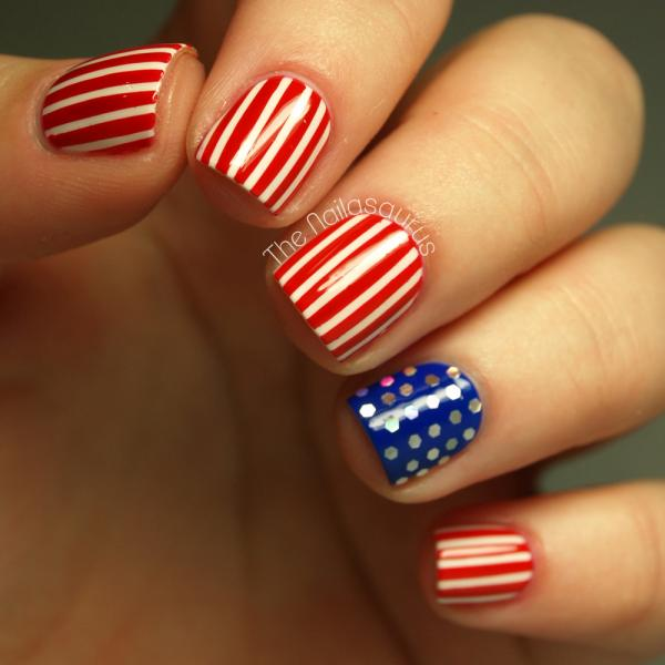Stars And Dots Nail Art If You Re Feeling So Much Of The