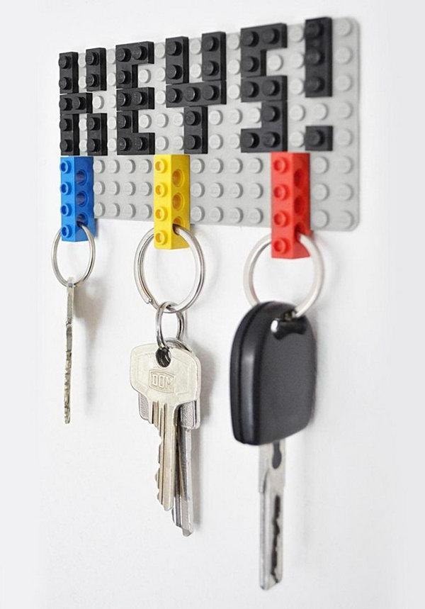 20 diy key holder ideas hative