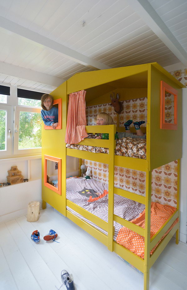 20 Awesome Ikea Hacks For Kids Beds Hative