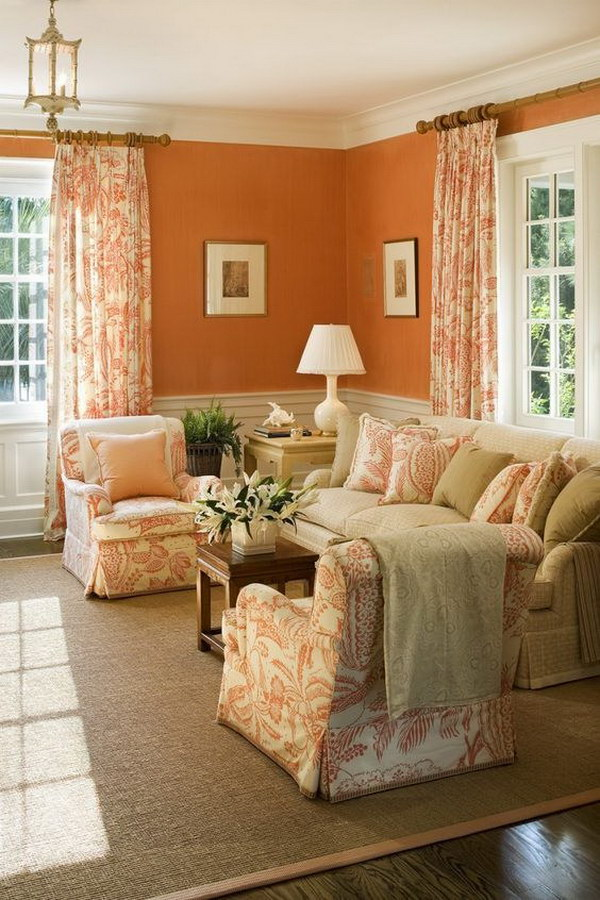 Pretty Living Room Colors For Inspiration - Hative on Colourful Living Room  id=30717