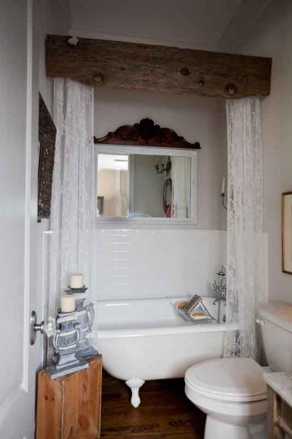 Rustic Farmhouse Bathroom Ideas - Hative on Rustic Farmhouse Bathroom  id=53161