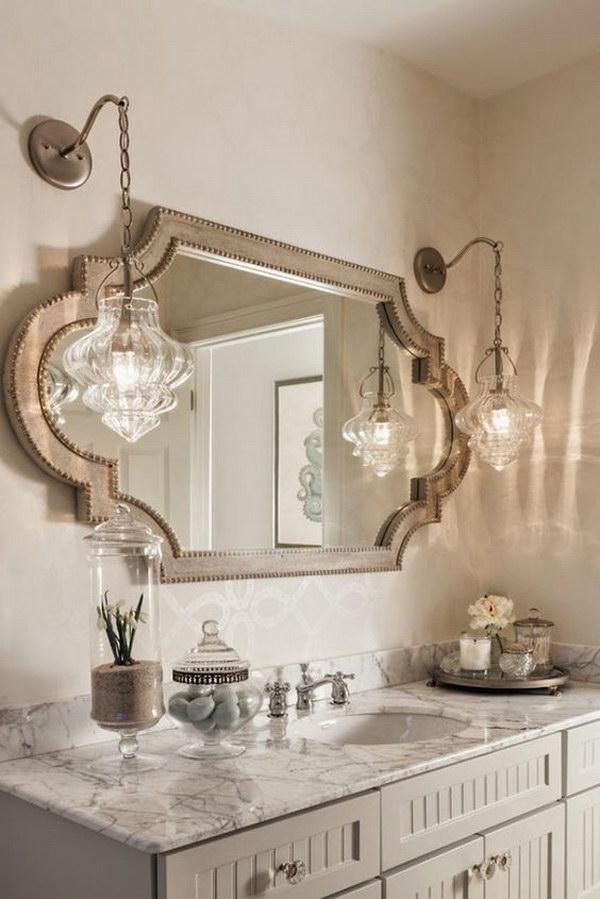 Rustic Farmhouse Bathroom Ideas - Hative on Rustic Farmhouse Bathroom  id=32904