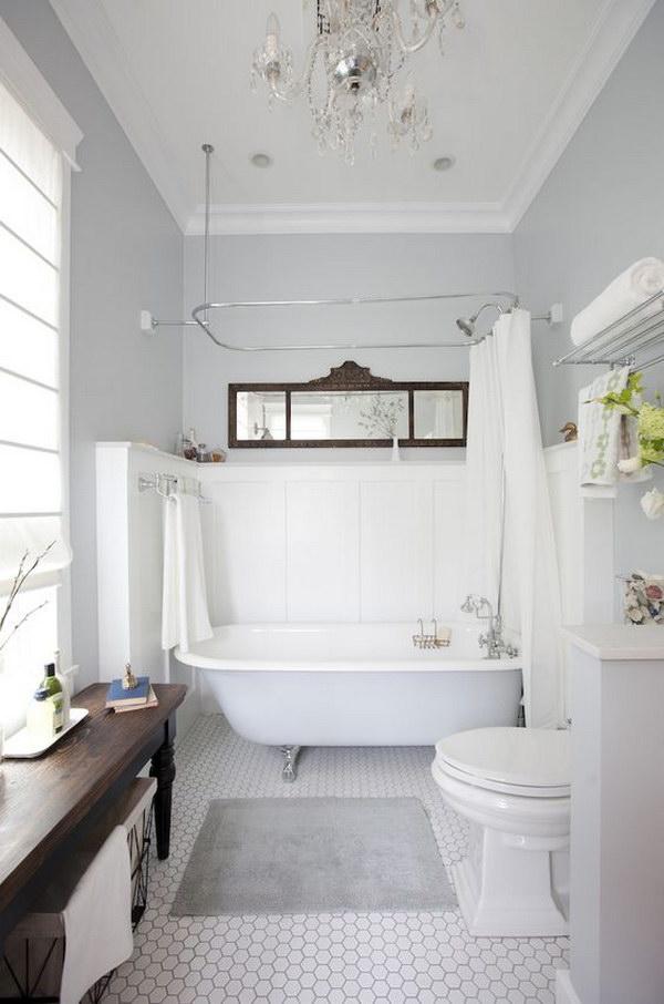 Rustic Farmhouse Bathroom Ideas - Hative on Rustic Farmhouse Farmhouse Bathroom  id=66289
