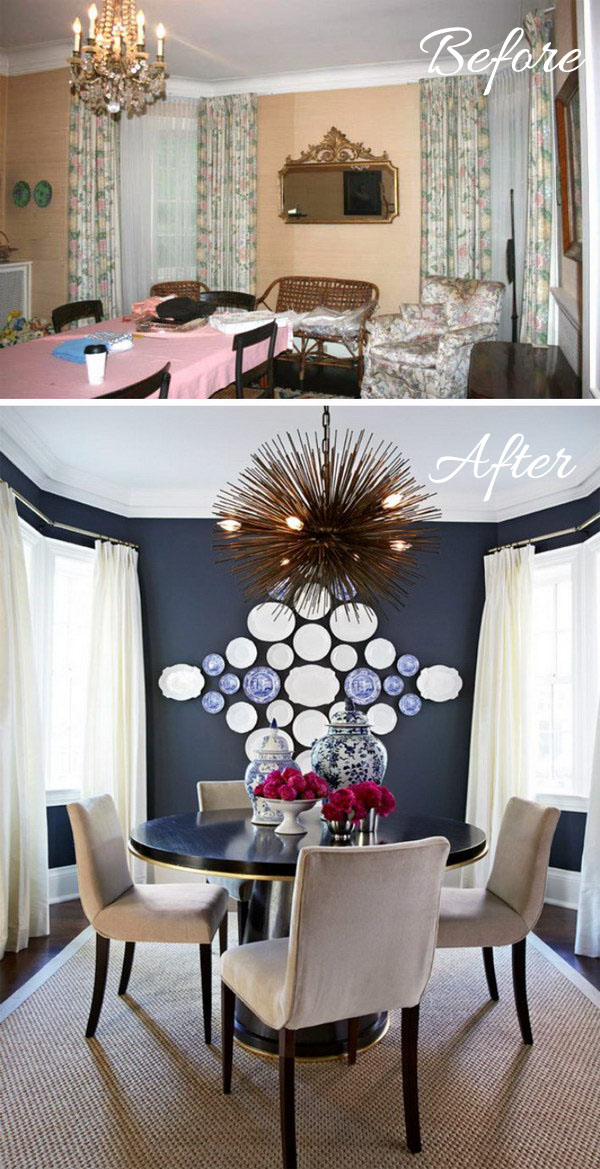 View more photos /view video with two young children and deman. Easy And Budget-Friendly Dining Room Makeover Ideas - Hative