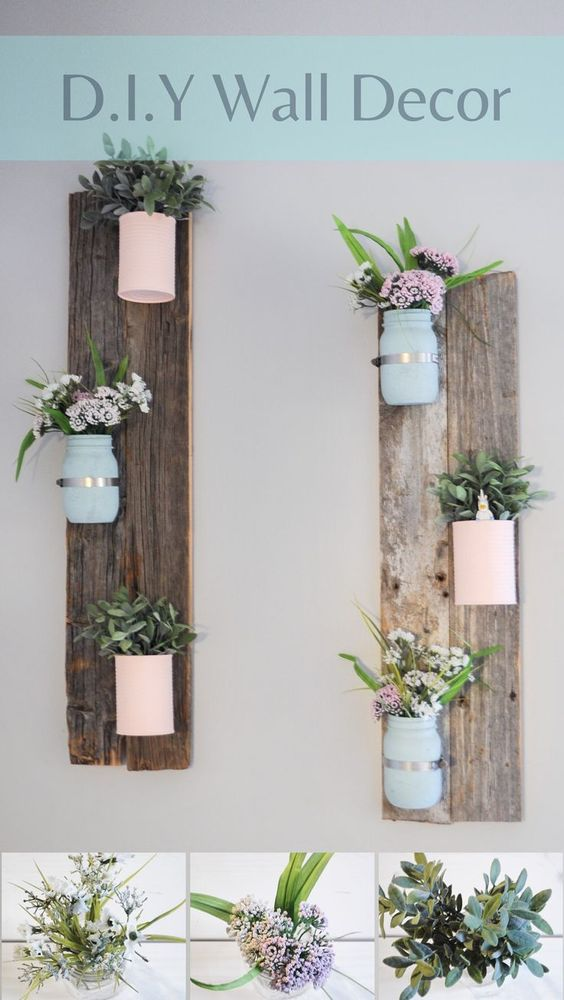 40+ Rustic Wall Decorations For Adding Warmth To Your Home ... on Wall Decoration Ideas At Home  id=12215