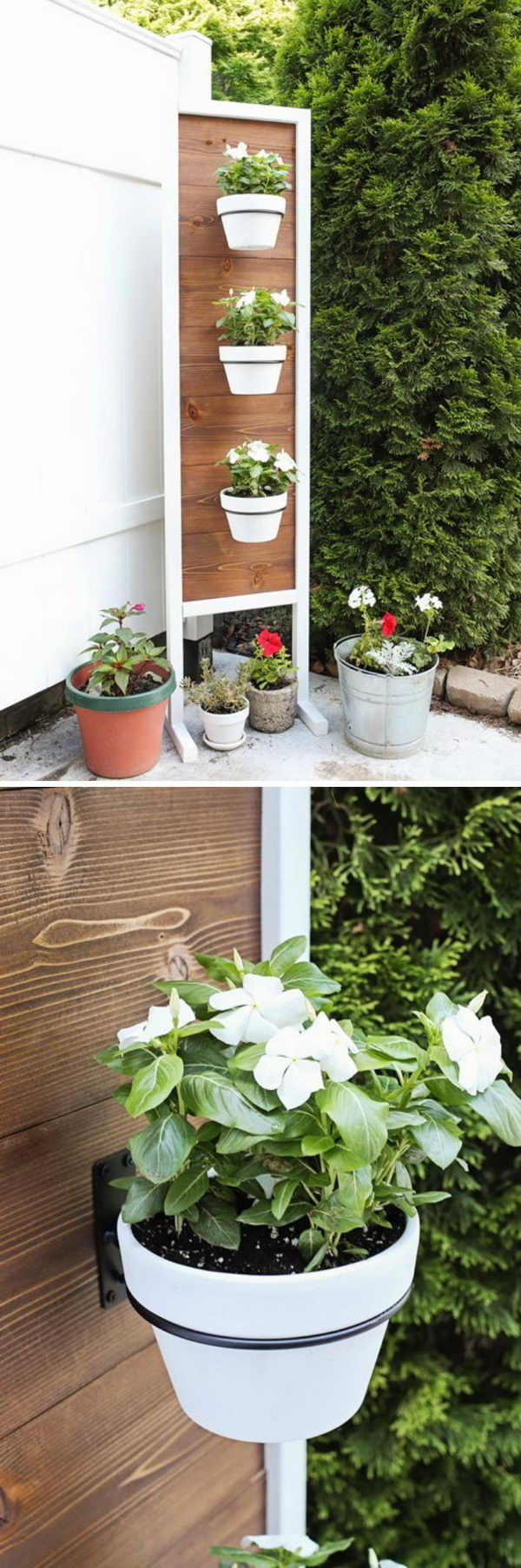 25+ DIY Plant Stands With Thrift Store Finds - Hative on Plant Stand Ideas  id=83128
