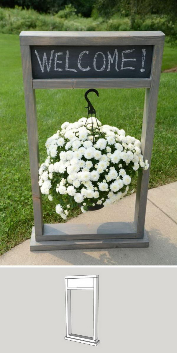 25+ DIY Plant Stands With Thrift Store Finds - Hative on Plant Stand Hanging  id=47743