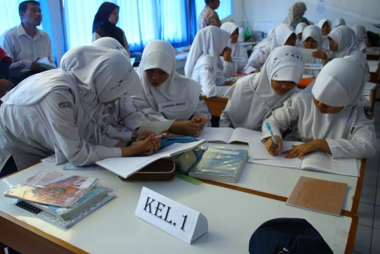 Kerjasama di sekolah