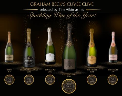 マスターオブワインのティム アトキン氏がグラハム ベックを南アフリカ スパークリングワイン オブ ザ イヤーに