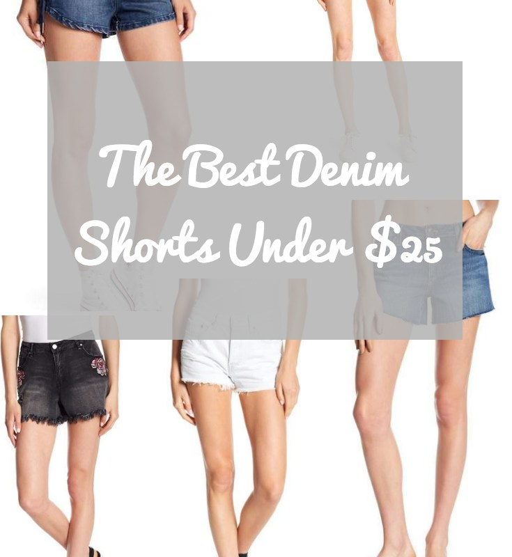 Monday Morning Obsessions: The Best Denim Shorts For Women Under $25.
