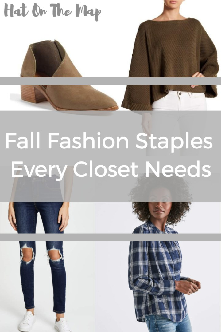 Fall Fashion Staples Every Girl Needs In Her Closet