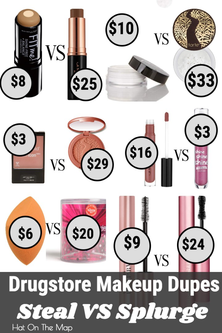 Drugstore Makeup Dupes; The Best Budget Makeup.