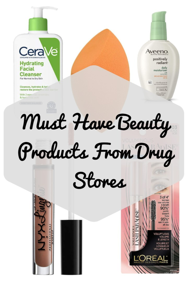 Drug Store Beauty Must Haves