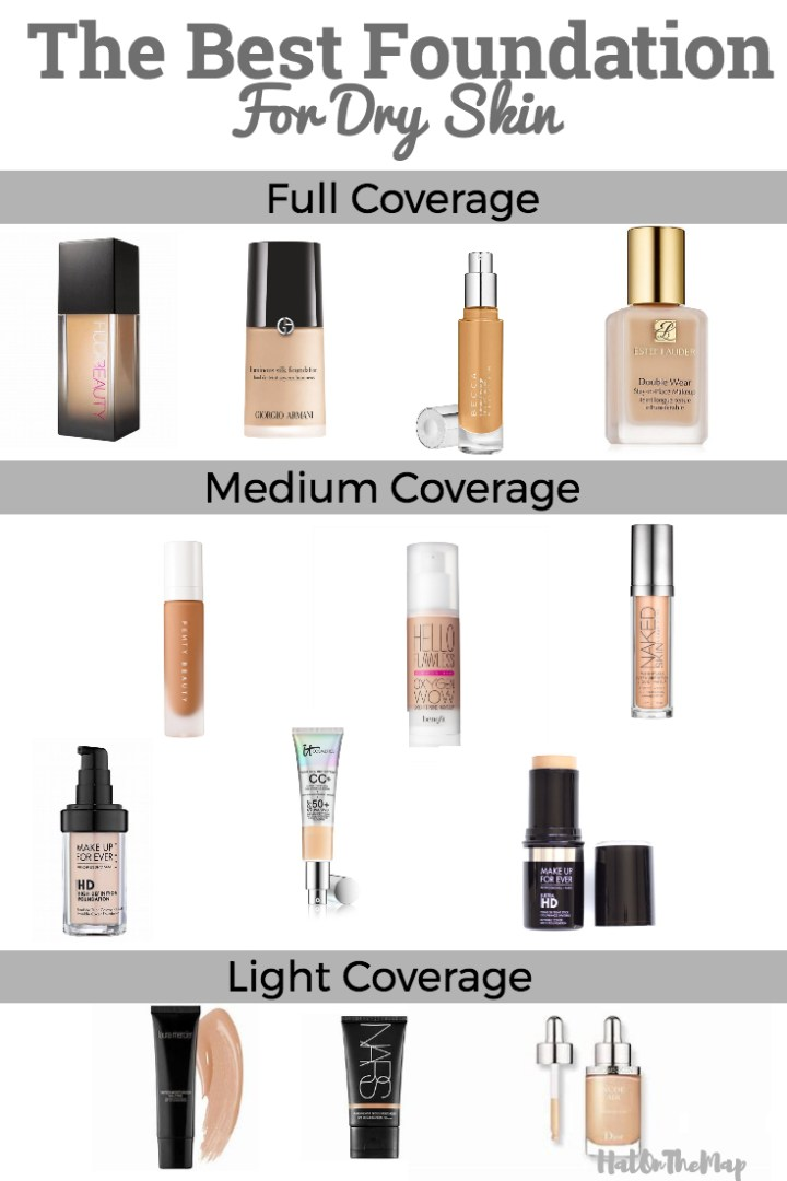 The Best Foundation For Dry Skin