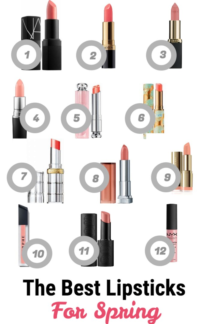 The Best Lipsticks For Spring
