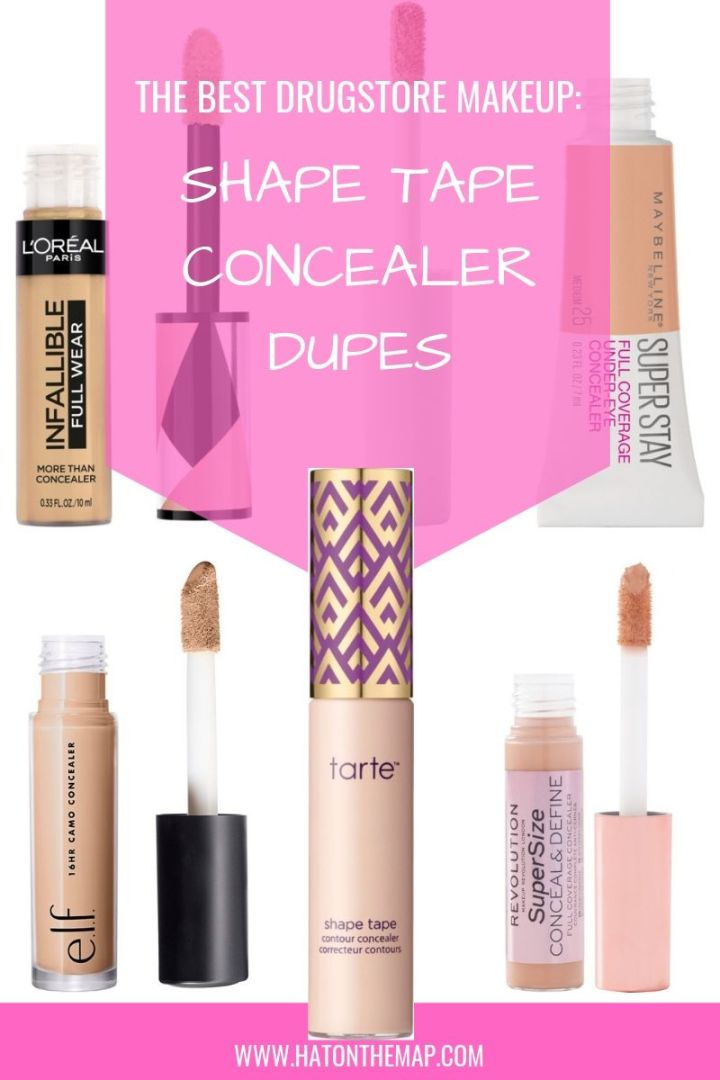 The Best Drugstore Makeup: Shape Tape Concealer Dupes