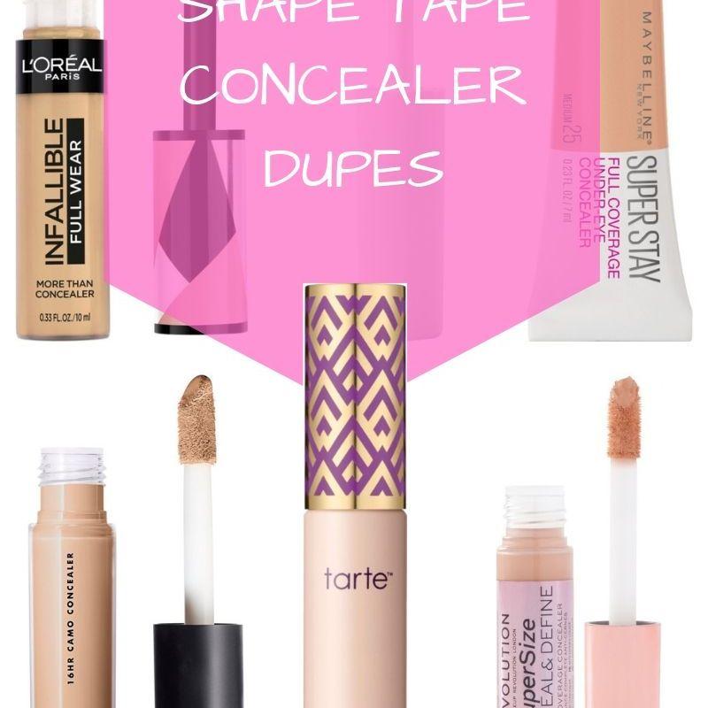 The Best Drugstore Makeup: Shape Tape Concealer Dupes