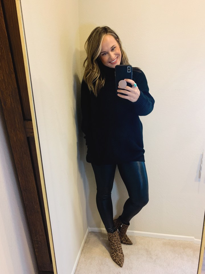 fall legging outfits