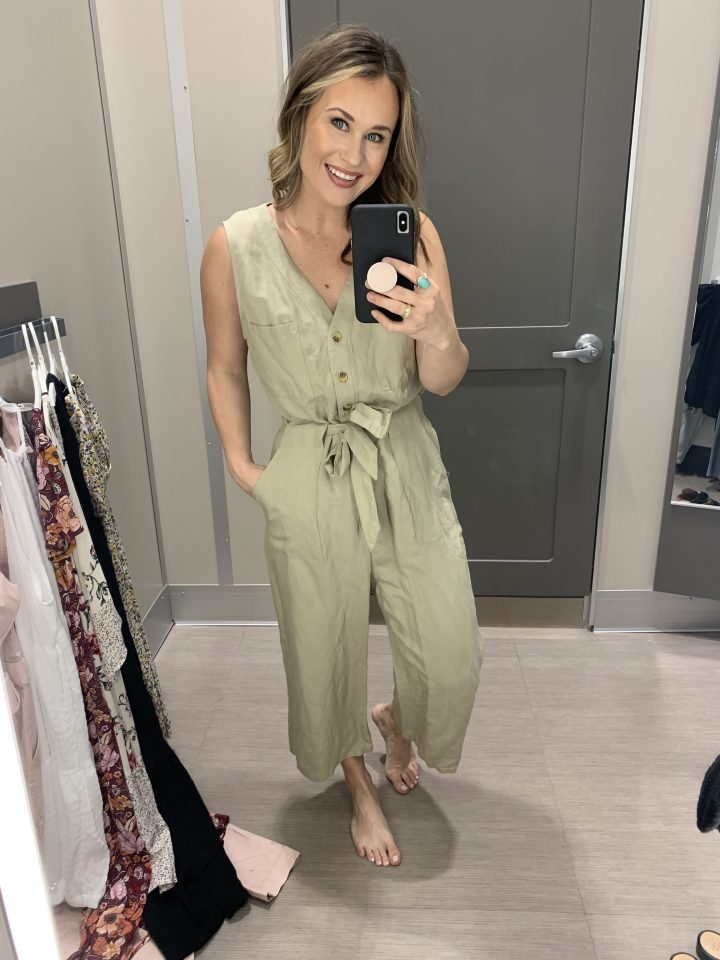 casual outfit, target jumpsuit, weekend outfit, brunch outfit