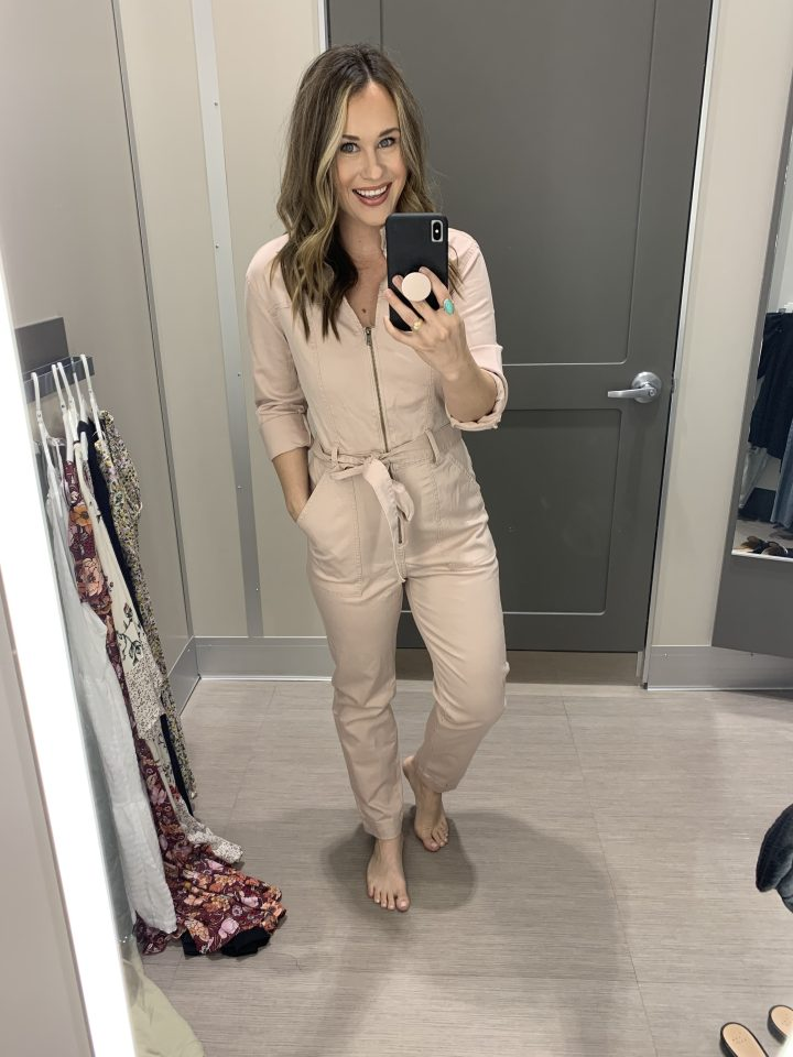 Spring Outfit at target, Spring fashion at target, spring jumpsuit, summer jumpsuit, pink jumpsuit