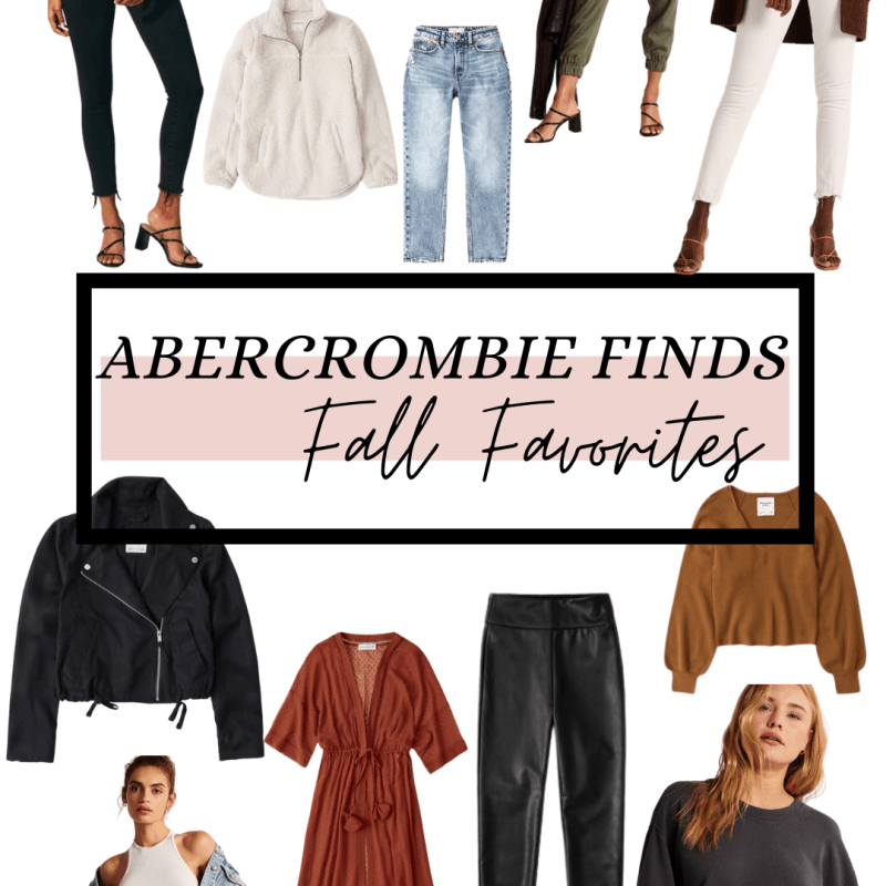 Abercrombie Haul: 7 Fall Outfit Ideas