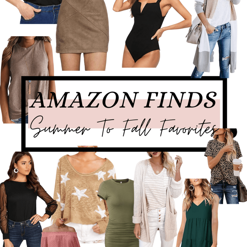 Amazon Fashion Finds: Summer To Fall Favorites
