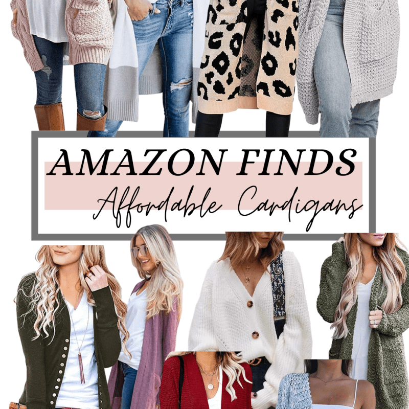 Amazon Finds: Affordable Cardigans