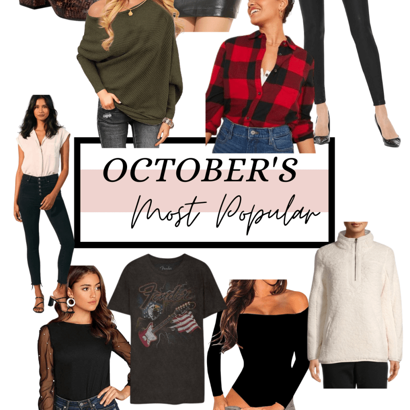 OCTOBER'S MOST POPULAR FINDS ON HAT ON THE MAP