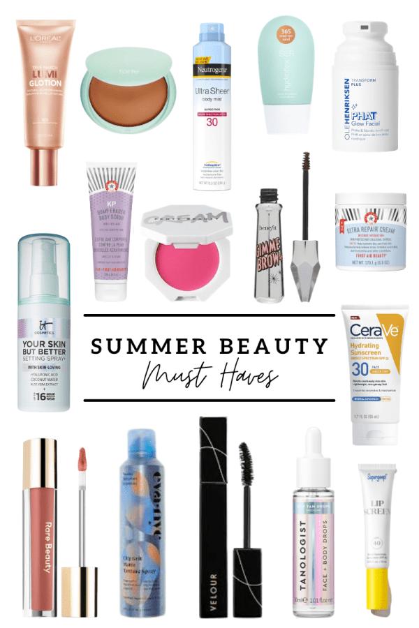 summer makeup, summer beauty, spf for women, spf for your face, summer beauty, makeup for everyone, makeup for dry skin, tanning drops, glowy makeup, best summer makeup,