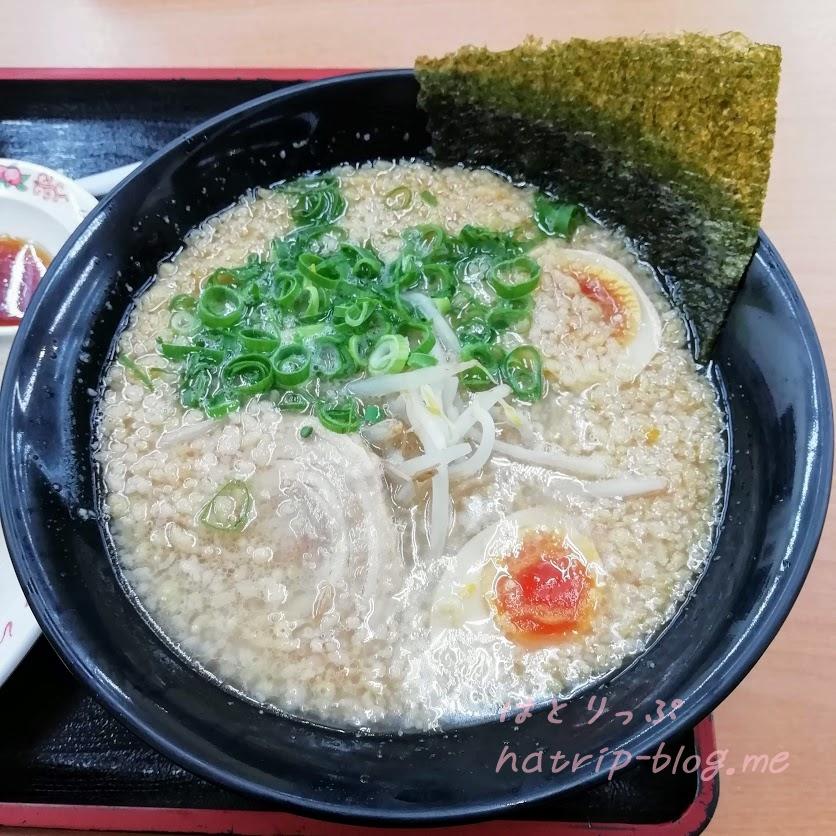 にんたま(醤油ラーメン)餃子セット