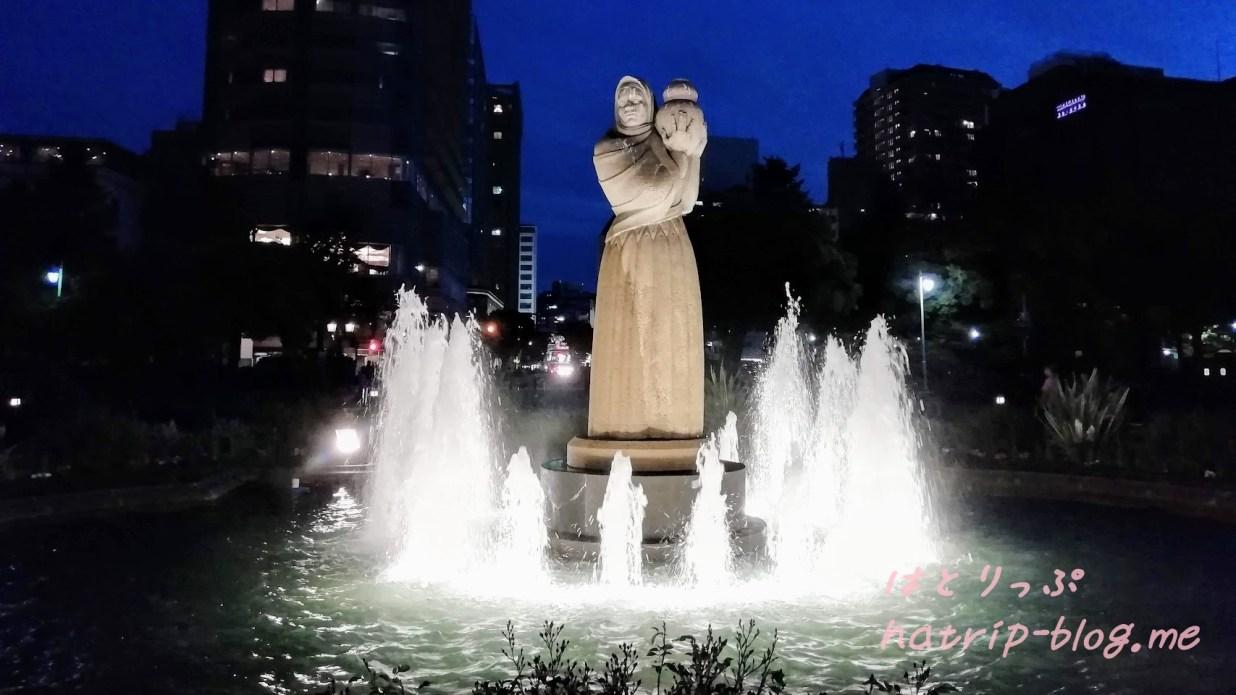 横浜 山下公園 水の守護神